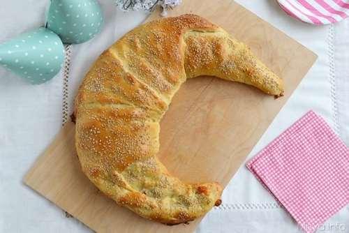Pane e Brioches ricette Cornettone salato