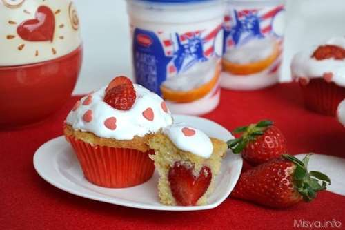 Dolci di San Valentino ricette Cupcake alla fragola