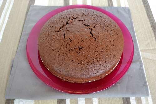 Dolci ricette Pan di spagna al cioccolato bimby