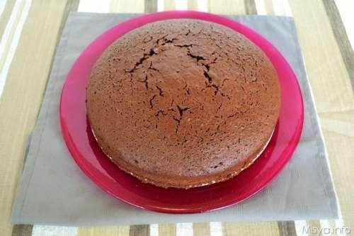 Pan di spagna al cioccolato bimby