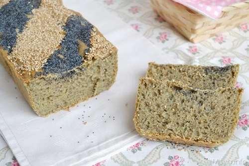 Ricette Pane e Brioches Pane con farina di canapa