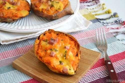 Ricette  Patate dolci ripiene