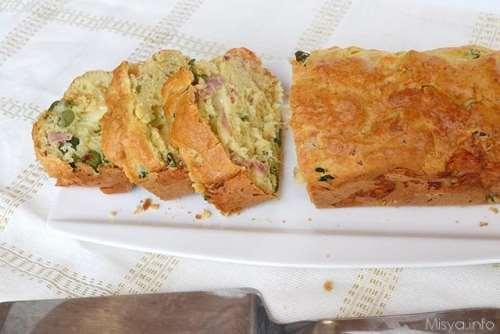 Rustici ricette Plumcake salato bimby