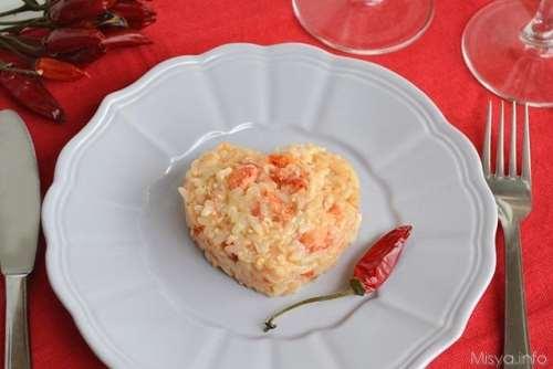 di San Valentino ricette Risotto degli innamorati