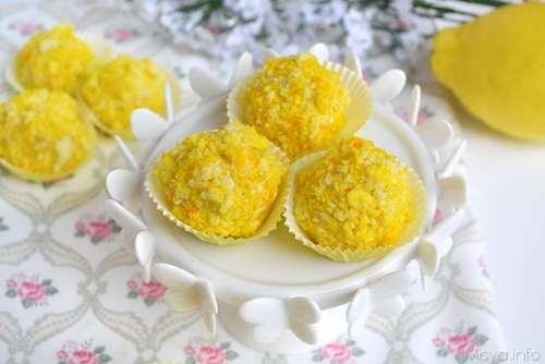 ricette Tartufini mimosa