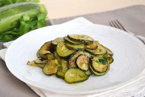 Ricette  Zucchine trifolate