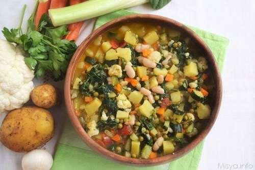 Ricette Primi piatti Minestrone di verdure bimby