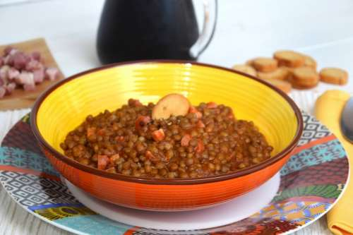 Primi piatti ricette Zuppa di lenticchie bimby