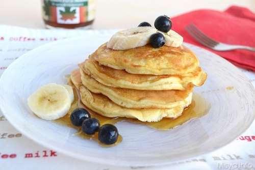 ricette Pancakes allo sciroppo d'acero