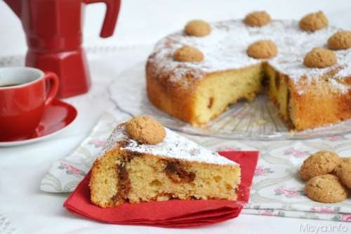 Torte ricette Torta al caffè e amaretti