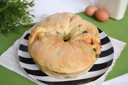 Rustici ricette Casatiello salsiccia e friarielli