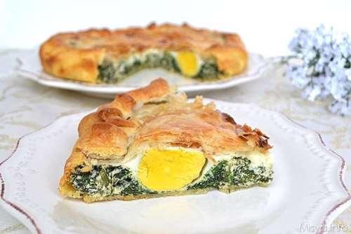 Rustici ricette Torta Pasqualina bimby