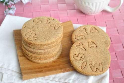 Biscotti ricette Biscotti allo sciroppo d'agave