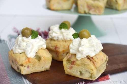 Rustici ricette Cupcake salati