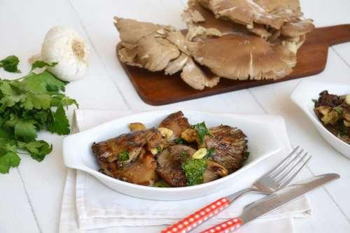 ricette Funghi arrostiti