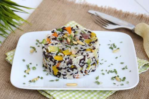 Ricette Insalate Insalata di riso night and day