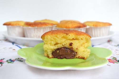 Ricette Muffin allo Yogurt Muffin yogurt e nutella
