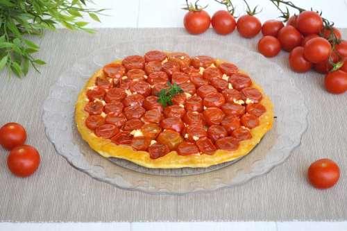 Ricette Torte salate Tarte tatin ai pomodorini