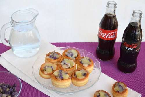 Finger food ricette Vol au vent con verza e patate