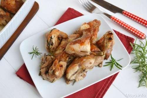 Secondi piatti di carne ricette Coniglio al forno