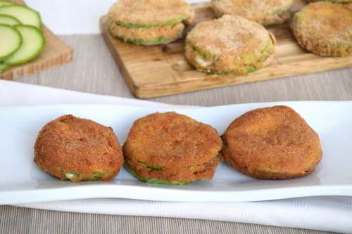 Secondi piatti ricette Cordon bleu di zucchine