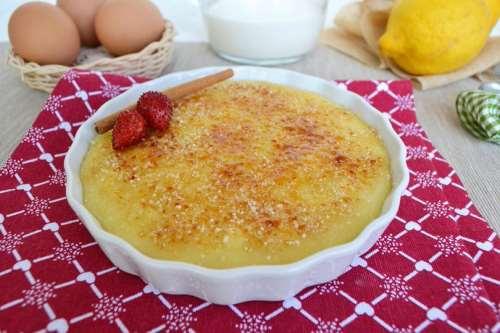 Ricette spagnole Crema catalana