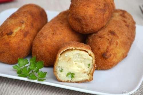 Vegetariane ricette Crocchè di patate