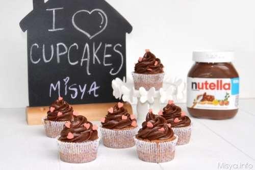 Cupcakes ricette Cupcake alla nutella