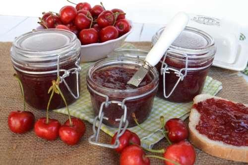 ricette Marmellata di ciliegie