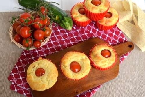 Ricette Muffin Muffin con pomodorino