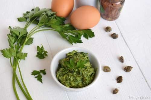 Salse e sughi ricette Salsa verde