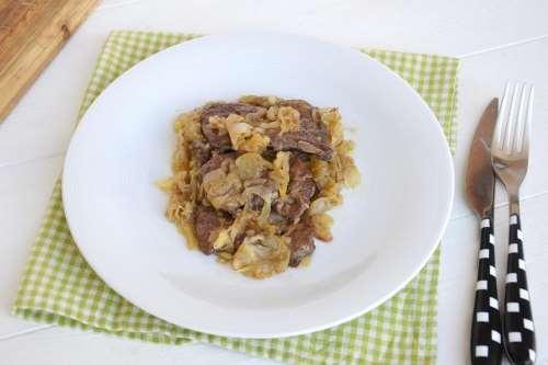 Secondi piatti ricette Fegato alla veneziana