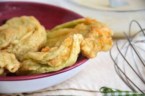 Ricette  Fiori di zucca fritti
