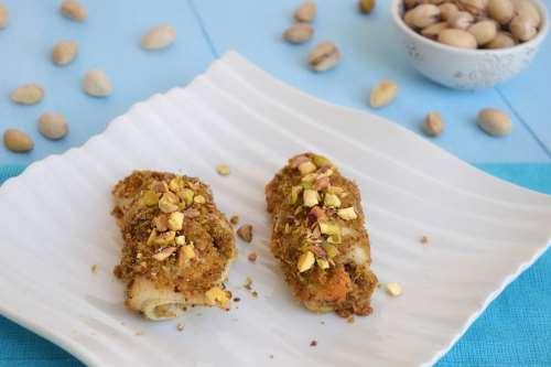 Involtini di platessa al pistacchio