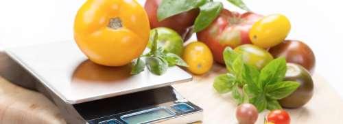 Peso alimenti crudi e cotti