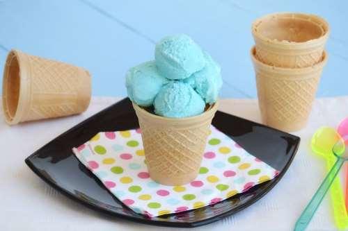 Ricette Gelati con gelatiera Gelato Puffo