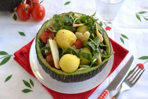 Ricette Contorni Insalata di melone