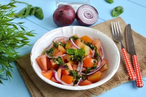 ricette Insalata di pomodori