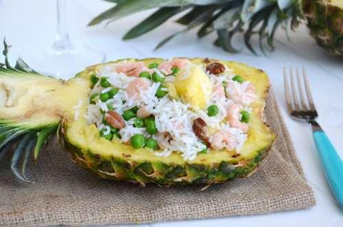 Insalate ricette Insalata di riso esotica