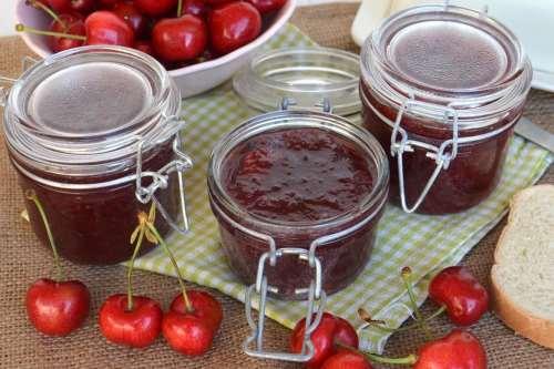 Ricette Dolci Marmellata di ciliegie Bimby