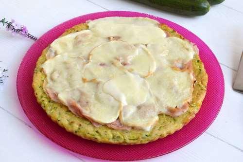 ricette Pizza di zucchine