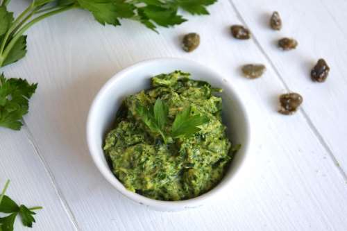 Antipasti ricette Salsa verde Bimby