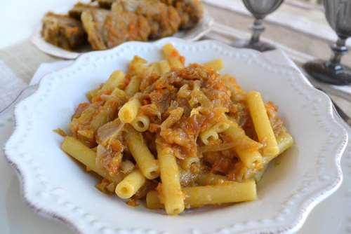 Primi piatti ricette Genovese Bimby