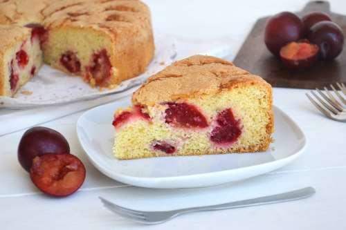 Ricette Torte facili Torta di prugne