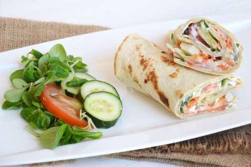 Ricette  Veggie wrap