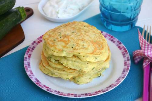 Ricette Antipasti Pancake alle zucchine