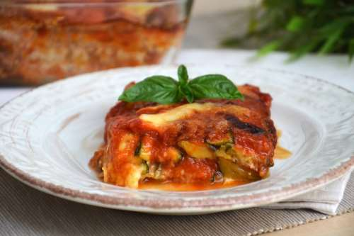 Ricette Vegetariane Parmigiana di zucchine
