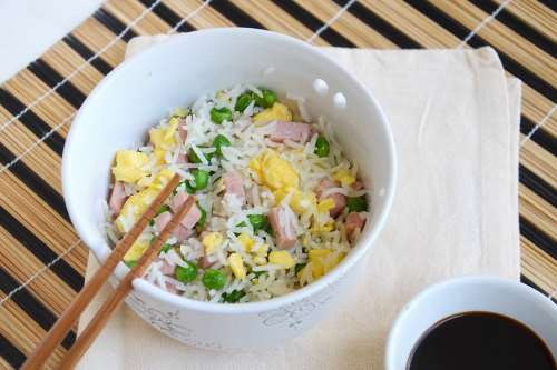 Ricette Primi piatti Riso alla cantonese Bimby