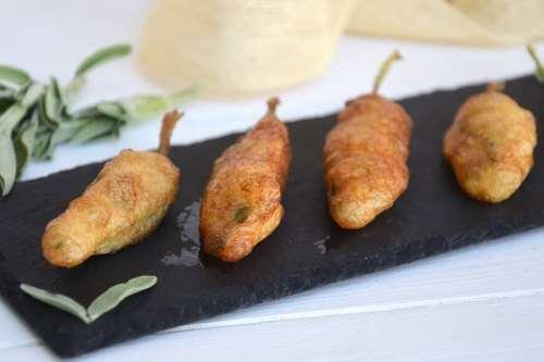 Finger food ricette Salvia fritta