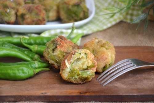ricette Polpette di peperoncini verdi
